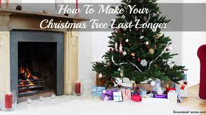 make your christmas tree last longer home decorating interior