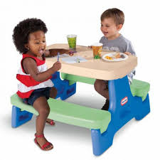 fisher price childrens picnic table kids patio furniture kids patio tables chairs little tikes