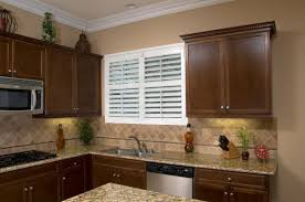 design ideas for shutters in kitchens plantation shutters window treatments
