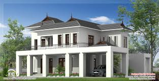 2500 square feet house elevation kerala home design and floor plans