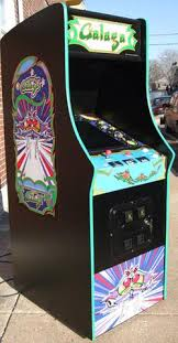 Galaga Arcade Cabinet Galaga Arcade With A Lot Of New Parts Looks Like A Brand New Game