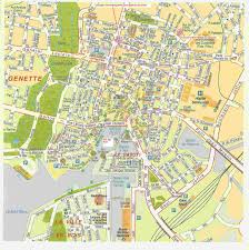 Notre Dame Campus Map Family History Of Emily Bebeau