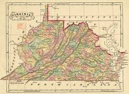 virginia map how the west was lost virginialiving