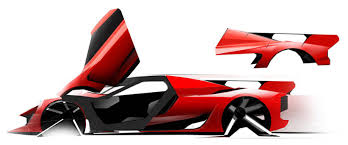 ferrari concept the ferrari laferrari development sketches motocrit