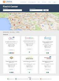 lifeline vascular access healthcare clinic website redesign
