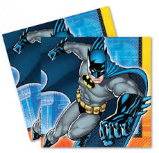 batman party supplies 16 x batman napkins party tableware serviettes batman party supplies