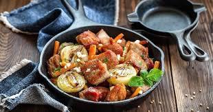 cuisine à la poele 15 recettes salées et express à cuire à la poêle cuisine az