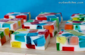glass block holiday jello festive our best bites