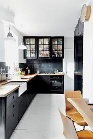 black backsplash kitchen best 25 black backsplash ideas on teal kitchen tile