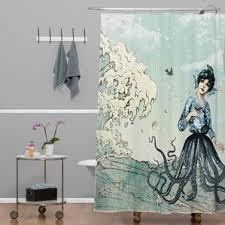 Dark Purple Shower Curtain Modern Shower Curtains Allmodern