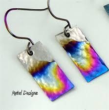 niobium earrings niobium earrings metal designz