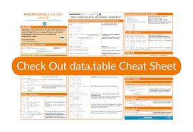the data table r package cheat sheet article datacamp