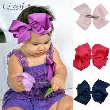 big bows for hair 6 inch big bow hair bows with clip hairbow headwear boutique bows