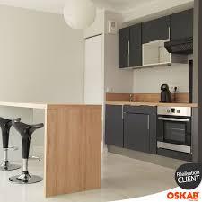 meuble snack cuisine cuisine grise moderne avec snack kitchens
