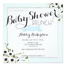 baby shower lunch invitation wording brunch baby shower invitations announcements zazzle au