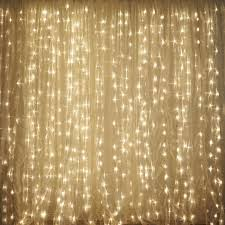 wedding backdrop lights 600 led lights wedding party organza curtain backdrop warm