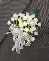 wedding flowers buttonholes grooms ivory gypsophila babies breath buttonhole s flowers