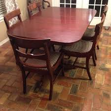 Duncan Phyfe Dining Room Set Find More New Price Drop Antique Duncan Phyfe Dining Table U0026 6