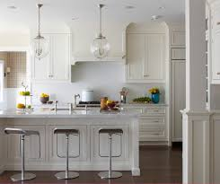 Glass Kitchen Pendant Lights Greenwich Cottage Style Kitchen New York