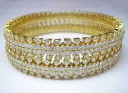 diamond studded buy diamond studded bangles 01 from aa overseas dindigul india
