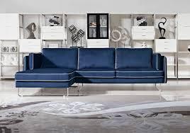Blue Velvet Sectional Sofa sofas center singular blue sofactional image ideas modern fabric