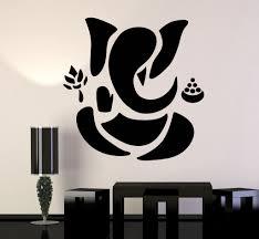 vinyl wall decal abstract ganesha hindu hinduism vedas god vinyl wall decal abstract ganesha hindu hinduism vedas god stickers ig3490