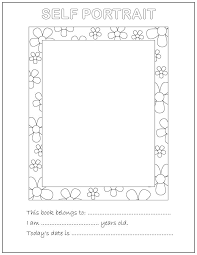 about me coloring pages