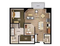 Bedroom Floor Planner by Floorplans Chateau Waters St Cloud Mn