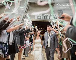 wedding wands wedding exit etsy