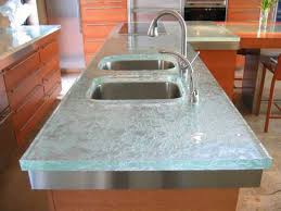 glass kitchen island 40 great ideas for your modern kitchen countertop material and design