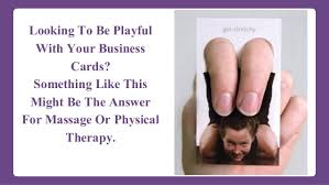 Massage Therapy Business Cards Playing With A Full Deck Of Cards Unique Salon Business Card Ideas