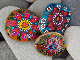 Painting Rocks For Garden Rock Garden Set Painted Rocks Set Sandi Pike Foundas Cape