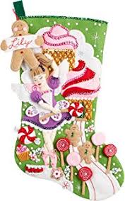 bucilla christmas bucilla 18 inch christmas felt applique kit