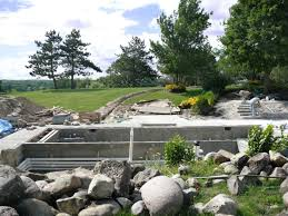 Backyard Renovations Before And After Before After Gallery Bull Valley Stonewood Design Group