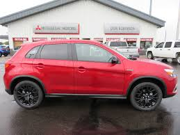 mitsubishi red new vehicle inventory 2017 mitsubishi outlander sport le 2 0