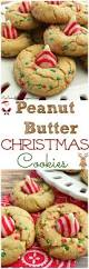 peanut butter christmas cookies recipe christmas cookies