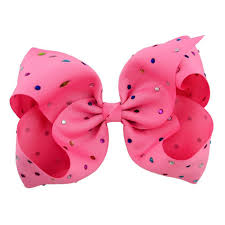 pink bows bows sparkle in pink