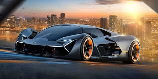 hyundai supercar concept lamborghini unveils new insane looking electric supercar concept