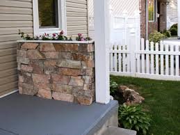 how to build a stone planter hgtv planters and patios