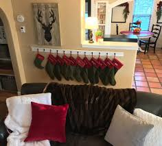 diy stocking holder u2014 urban cottage living
