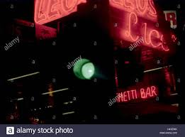 australia melbourne detail neon lights traffic