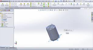 tutorial creating knurl in solidworks grabcad