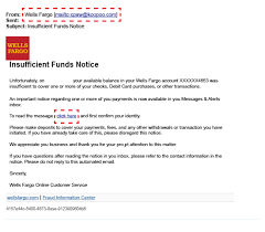 letter of termination of services report phish and email scams u2013 wells fargo