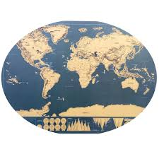 Personalized World Map by Travel Map Online Shopping The World Largest Travel Map Retail