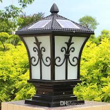 Outdoor Post Lights Led Solar Post Lights Outdoor Post Lighting Landscaping Solar Led