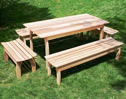 adjustable picnic table bench plans how to build a good one