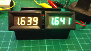 Decimal House Comparing Two Cheap Led Voltmeters With 3 Decimal Places Accuracy