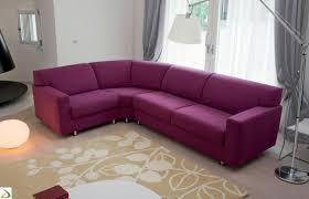 Purple Corner Sofas Divano Letto Ad Angolo Moderno Galico Arredo Design Online