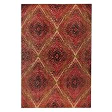 trading pattern shipping m a trading hand woven lansing red multi 2 x3 free shipping