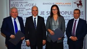 siege banque populaire casablanca adresse banque populaire s avec barid al maghrib pour l